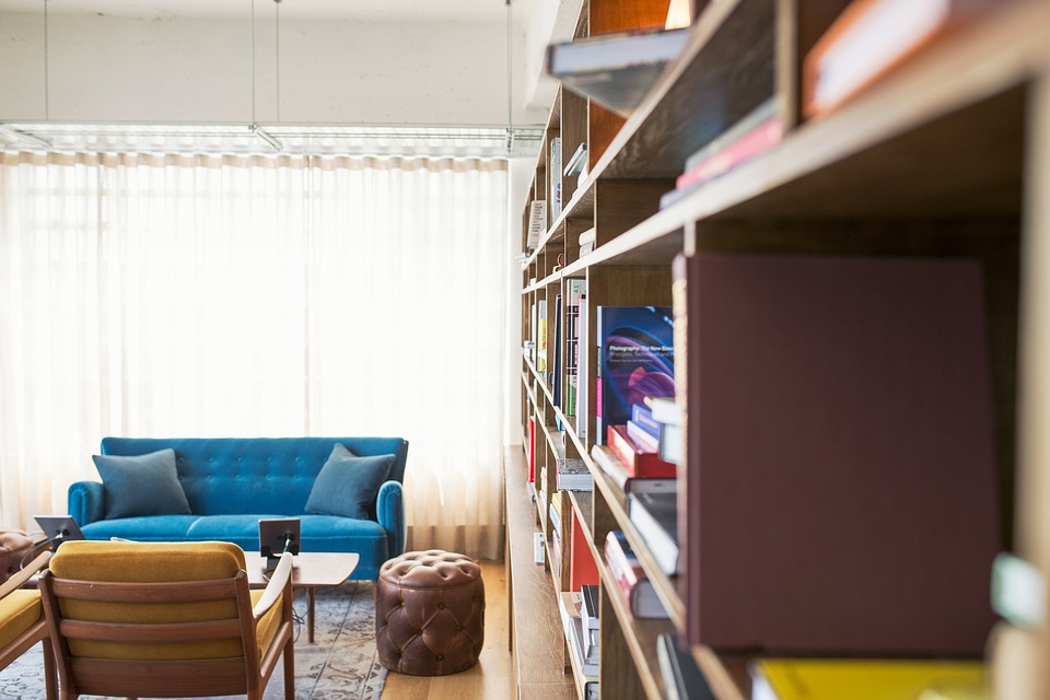 Decluttering your home of unused and unwanted items can instantly make your home feel bigger.